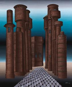 Distopolis. Water towers gallery.