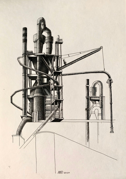 Industrial sketch.