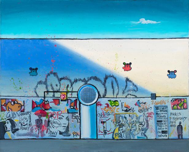 Graffiti Series. Paris. 7 february.
