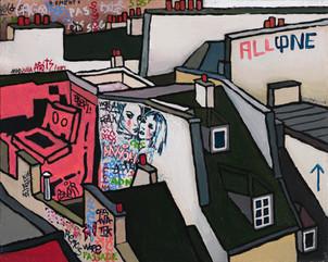 Graffiti Series. Julia.