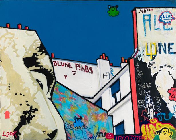 Graffiti Series. Look.