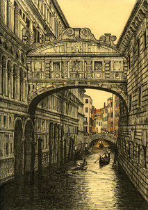 No. 10. Bridge of sighs.