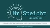 Mr Speight Consultancy