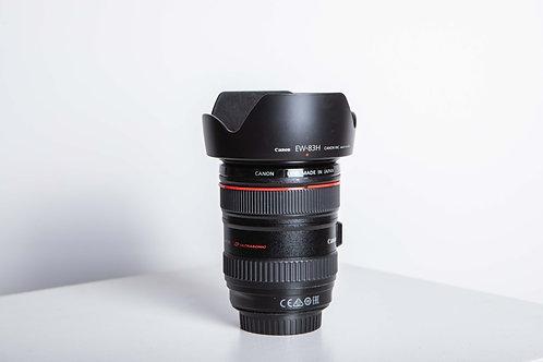 Lentille Canon 24-105 mm F4 / 600$