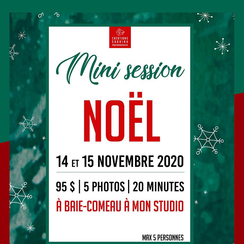Mini session Noël