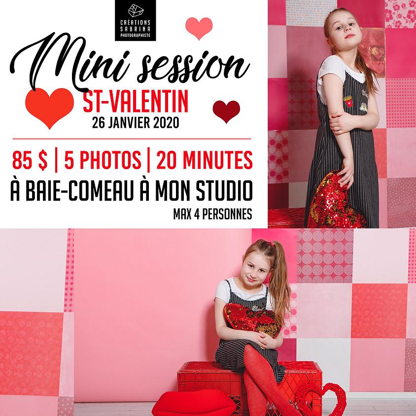 Mini session St-Valentin