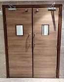 Wooden Lead Lined Fire Rated Door
