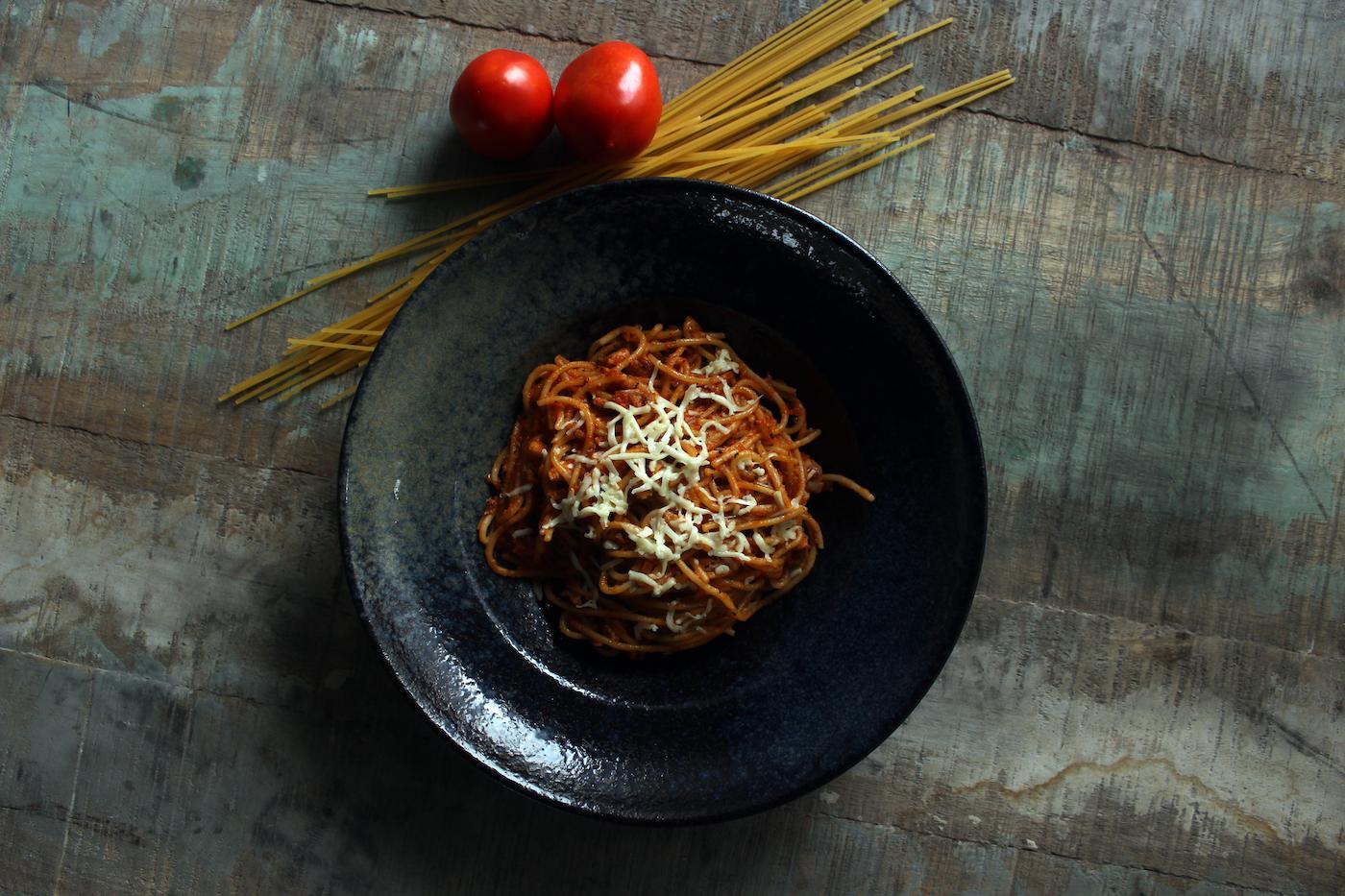 Spaghetti at The Nilaya