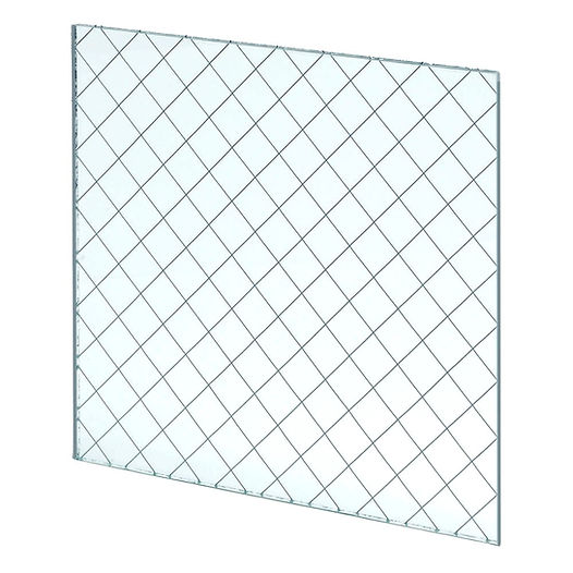 Clear Wired Fire Rated Glass