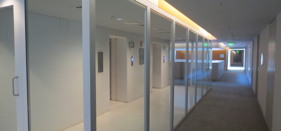 Fire Rated Lift Lobby partition