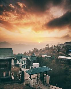 Sunset views The Nilaya Mashobra