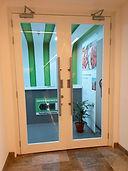 Metal Glazed Fire Rated Door