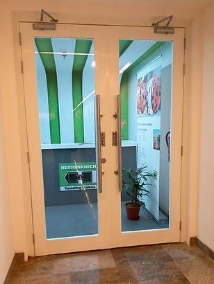 Glazed Fire Rated Metal Door