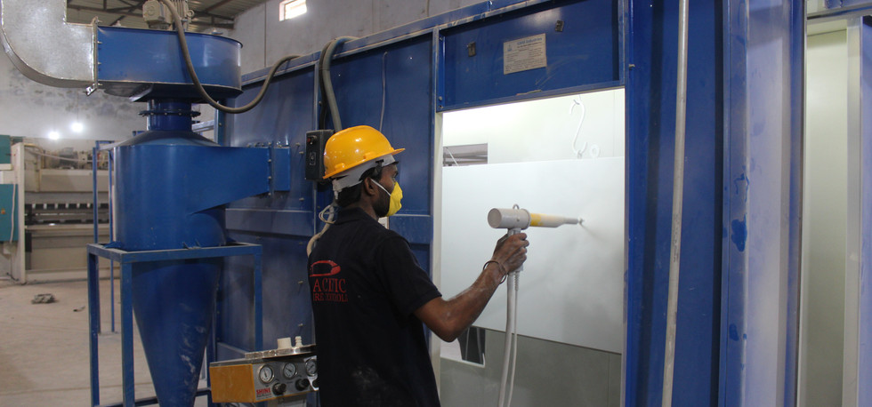 Power Coating Plant