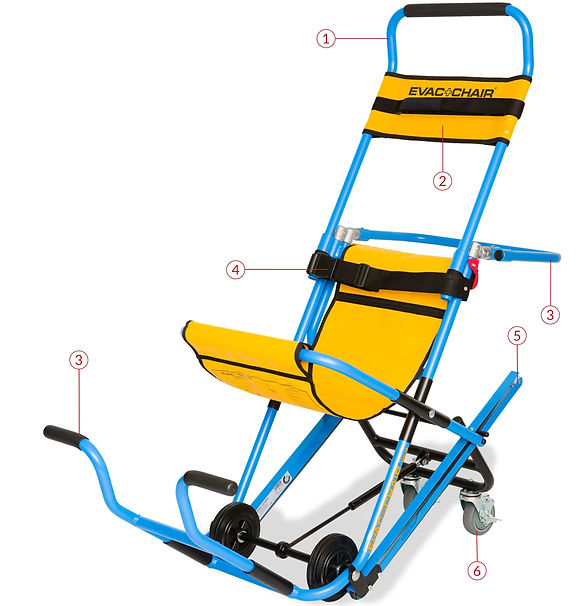 600H Evacuation Chair in India
