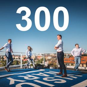 HRANICE 300 MILIONŮ POKOŘENA! DĚKUJEME!
