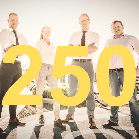 STARTEEPO INVEST SPRAVUJE JIŽ VÍCE NEŽ 250 MILIONŮ KORUN! DĚKUJEME!