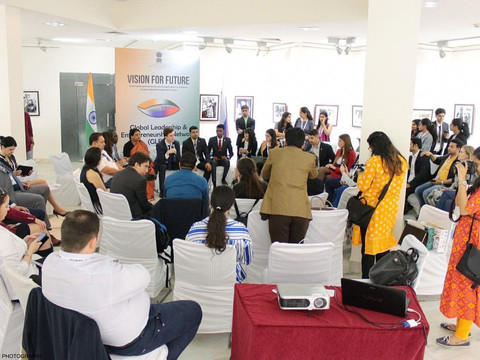 Встреча Глобальной сети лидерства и предпринимательства в Индии