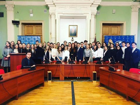 Тренинг для делегации в стенах Дипломатической Академии МИД РФ
