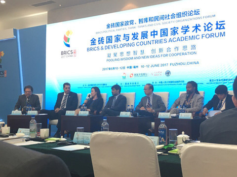 """Pooling wisdom and new ideas for cooperation"" on the BRICS Political Parties, Think-Tanks and Civil"