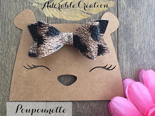 Boucle Poupounette Leopard
