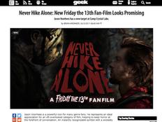 GEEK Calls 'NHA' Best F13 Movie Since 80's