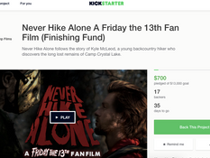 WSF Launches Finishing Fund on Kickstarter for 'Never Hike Alone'