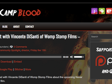 'NHA' Director Stops By Return to Camp Blood Podcast