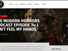 'NHA' Director Interviewed on Modern Horrors Podcast