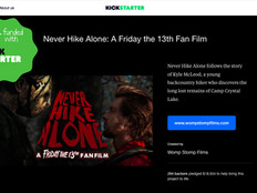 'Never Hike Alone' Successfully Funded on Kickstarter