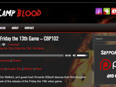 Camp Blood Podcast and NHA Director Talk F13 Video Game