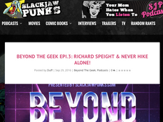 WSF Visits Beyond the Geek Podcast