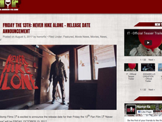 Horror Fix Posts Press Release for 'NHA' Release Announcement