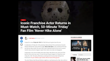 Bloody Disgusting Loves 'Never Hike Alone'