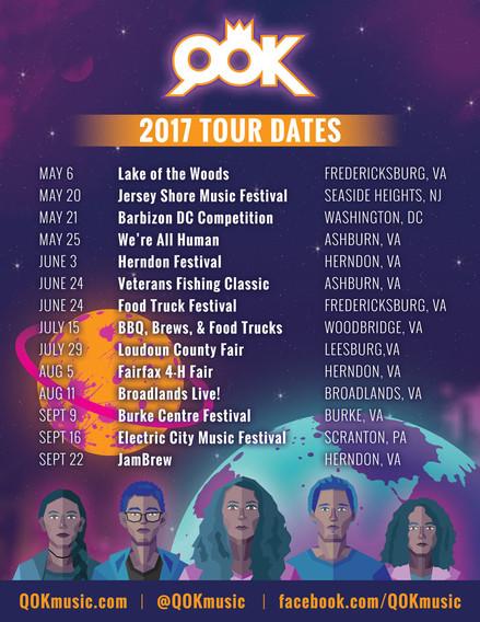 Tour Starts NOW!