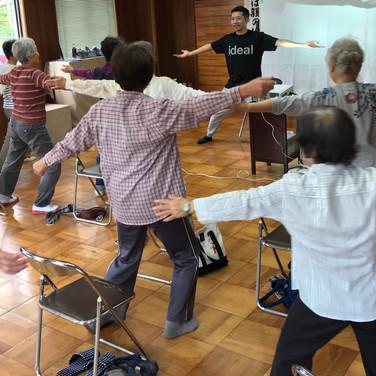 講座での運動指導3