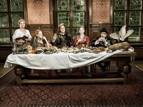 Koninklijk banket - Historische verkleedkledij - Avothea Gent