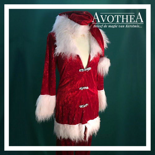Kerstvrouw kostuum 2