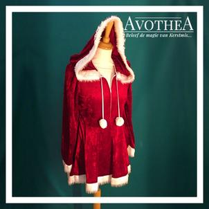 Kerstvrouw kostuum 3