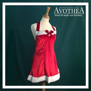 Kerstvrouw kostuum 1 6