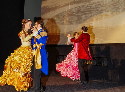 Kinepolis Ladies at the movies gekleed door Avothea!