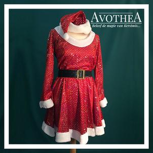 Kerstvrouw kostuum 7