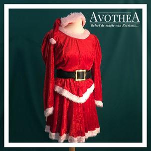 Kerstvrouw kostuum 8