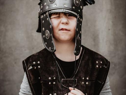 Avothea kleedt ridder Zjef voor zijn lentefeest!