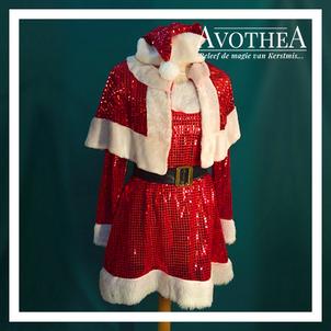 Kerstvrouw kostuum 4
