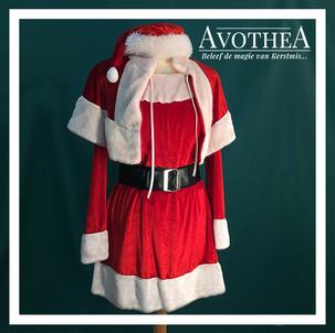 Kerstvrouw kostuum 5