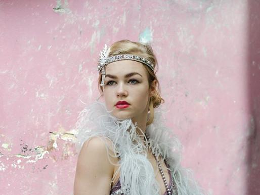 Great Gatsby fotoshoot gekleed door Avothea!