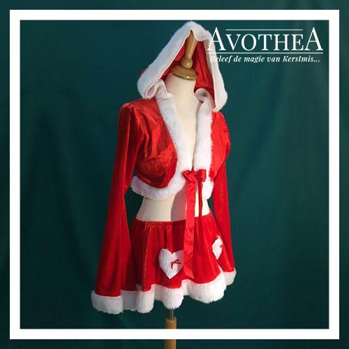 Kerstvrouw kostuum 9