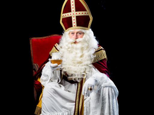 Fotoshoot Sinterklaas kostuum voor Avothea