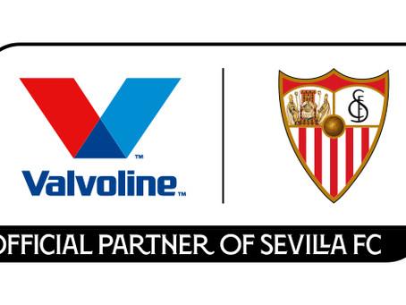 美國滑寶靈潤滑油宣佈成為官方指定的西維爾足球俱樂部全球合作伙伴